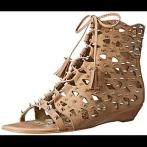Sam Edelman pre loved gladiator sandals